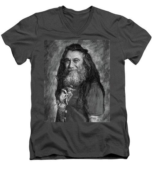 Tom Araya 2 Men's V-Neck T-Shirt