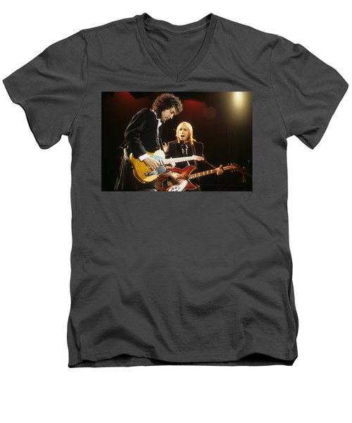 Tom Petty And Mike Campbell Men's V-Neck T-Shirt