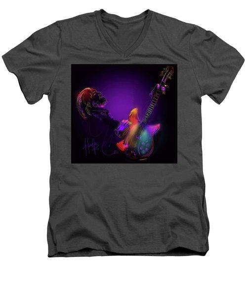 Tom Petty Tribute 1 Men's V-Neck T-Shirt