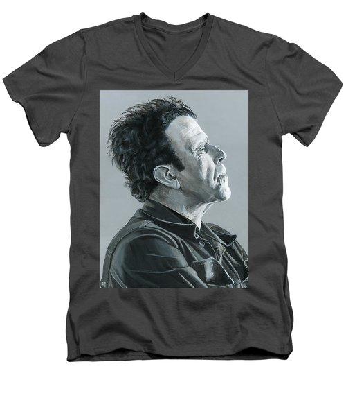 Tom Waits Men's V-Neck T-Shirt