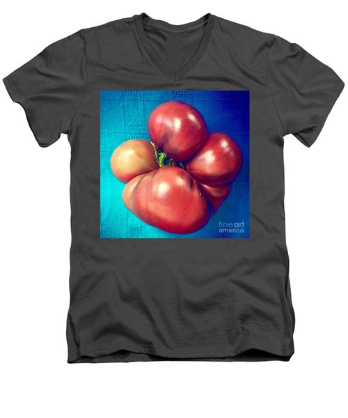 Tomatoe Men's V-Neck T-Shirt
