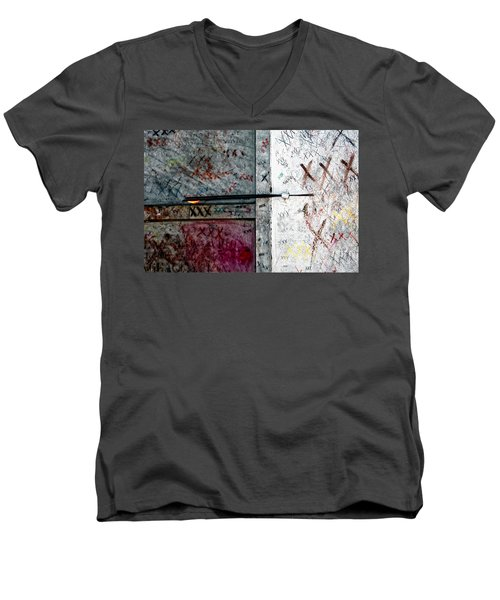 Tomb Of Marie Laveau Voodoo Queen Of New Orleans Men's V-Neck T-Shirt by Kathleen K Parker