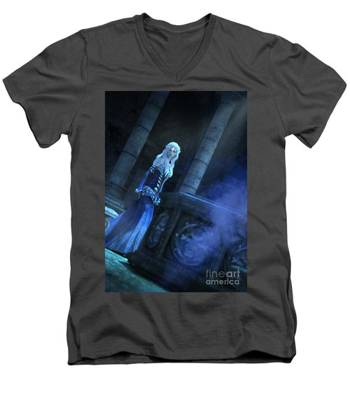 Tomb Of Shadows Men's V-Neck T-Shirt