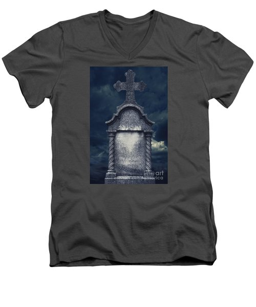 Tombstone Men's V-Neck T-Shirt