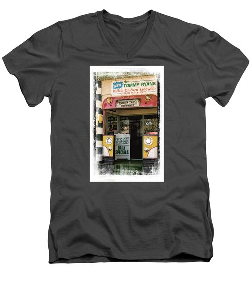 Tommy Ryans Men's V-Neck T-Shirt by Bob Pardue