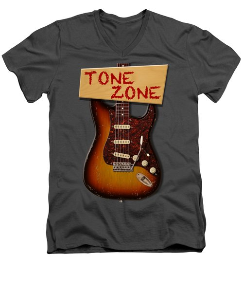 Tone Zone T-shirt Men's V-Neck T-Shirt