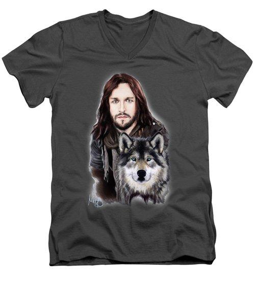 Tony Kakko / Sonata Arctica/ Men's V-Neck T-Shirt