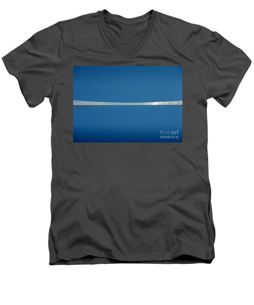 Men's V-Neck T-Shirt featuring the photograph Top Of The Arch by Peter Simmons