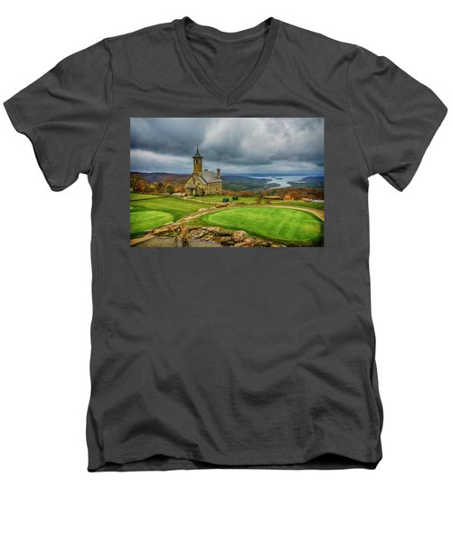 Top Of The Rock Branson Mo 7r2_dsc2627_16-11-25 Men's V-Neck T-Shirt