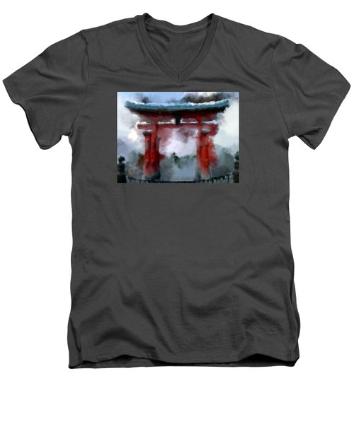 Torii Men's V-Neck T-Shirt