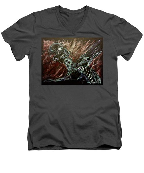Tormented Soul Men's V-Neck T-Shirt
