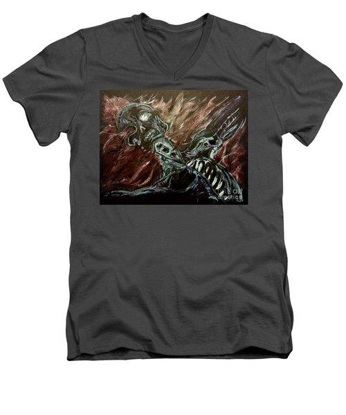 Tormented Soul Men's V-Neck T-Shirt