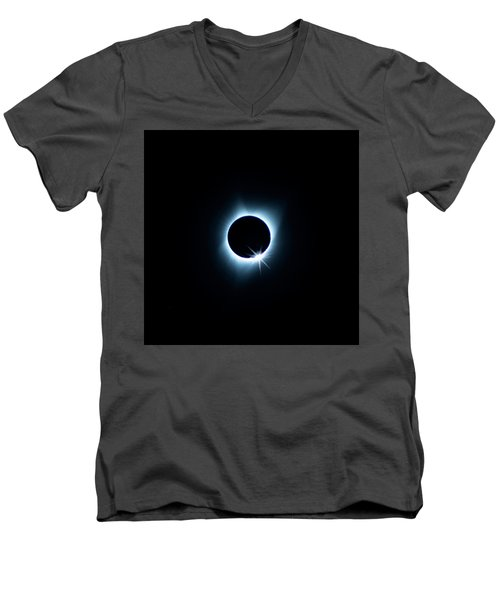Total Eclipse Men's V-Neck T-Shirt