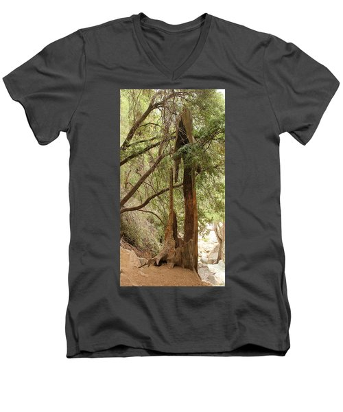 Totem Made By Nature Men's V-Neck T-Shirt