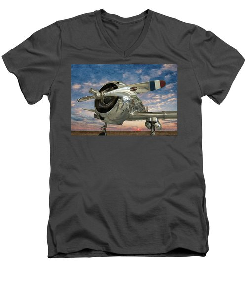 Touch And Go II Men's V-Neck T-Shirt