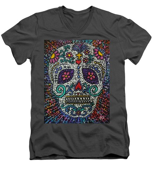Touch Of Death Men's V-Neck T-Shirt