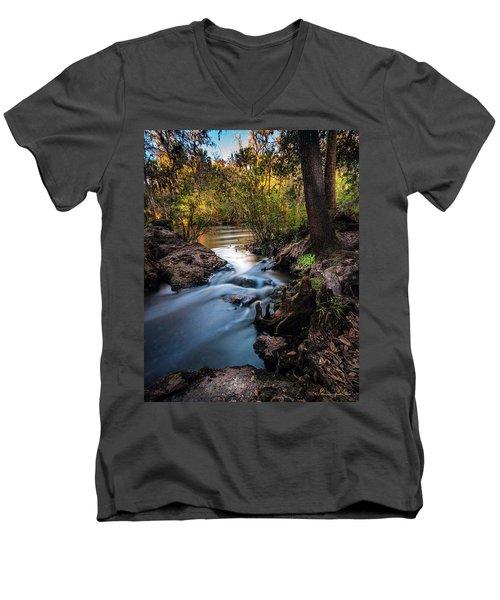 Touchable Soft Men's V-Neck T-Shirt