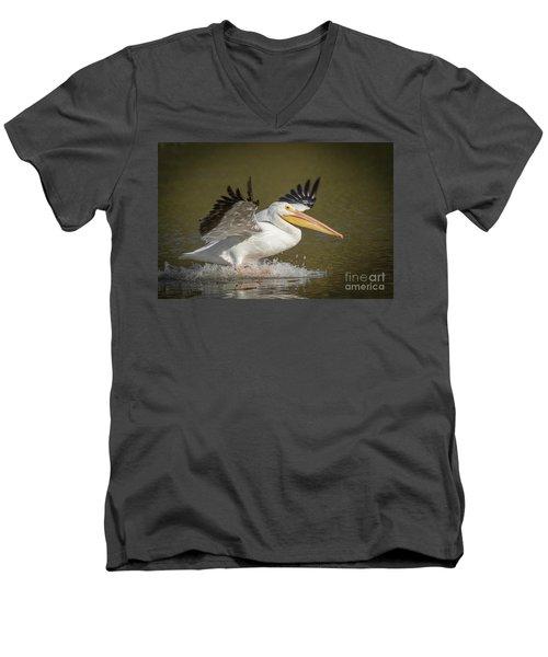 Touchdown Men's V-Neck T-Shirt