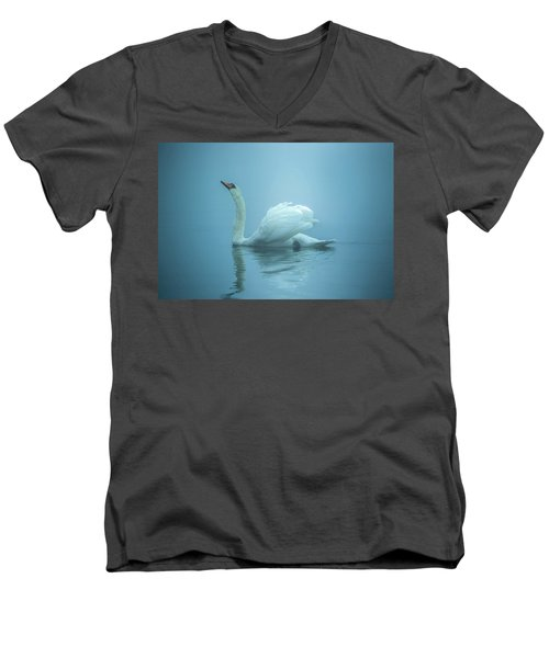 Touched By The Light Men's V-Neck T-Shirt by Rose-Marie Karlsen