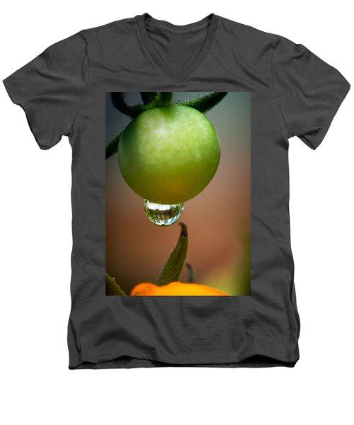 Touching Worlds Men's V-Neck T-Shirt