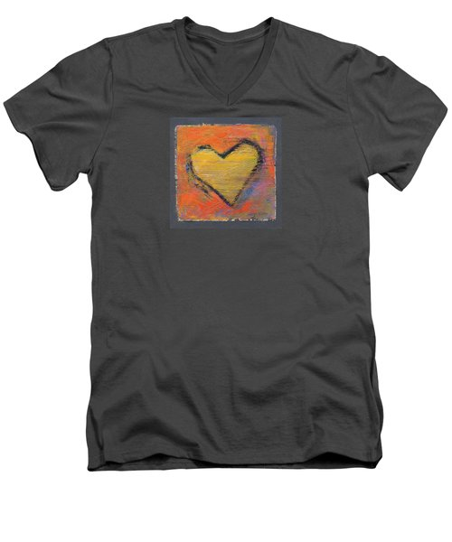 Love 8 Men's V-Neck T-Shirt