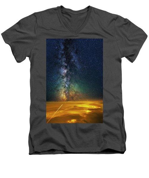 Towards The Core Men's V-Neck T-Shirt