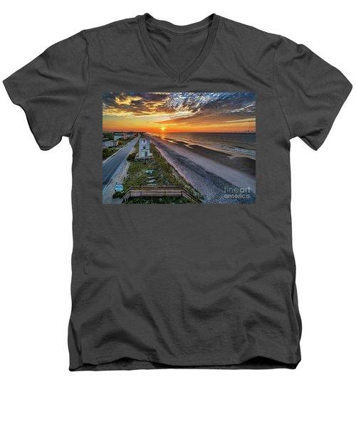 Tower #3 Men's V-Neck T-Shirt