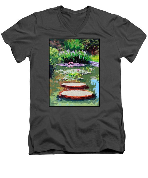 Tower Grove Park Men's V-Neck T-Shirt