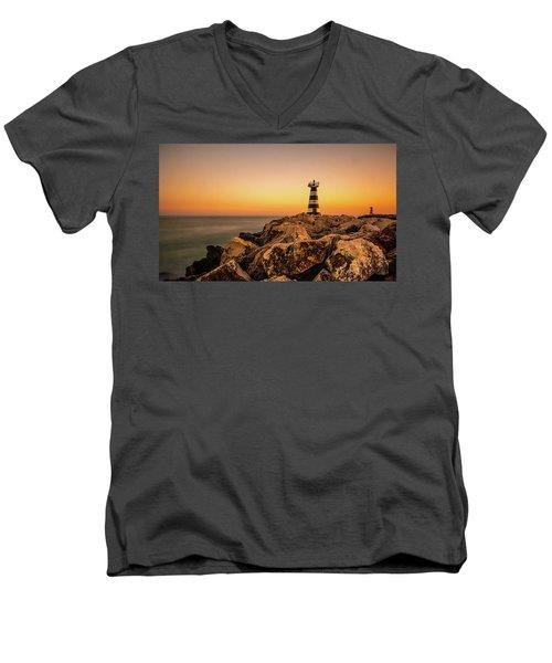 Tower Of Light Men's V-Neck T-Shirt