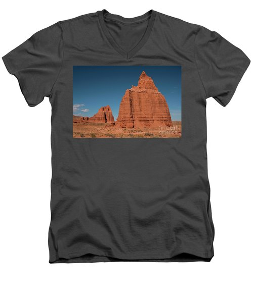 Tower Of The Sun And Moon Men's V-Neck T-Shirt