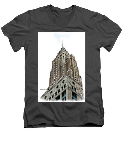 Towering Men's V-Neck T-Shirt