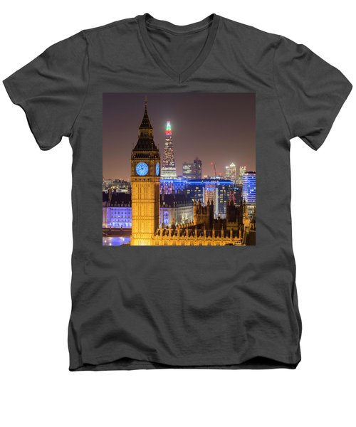 Towers Of London Men's V-Neck T-Shirt