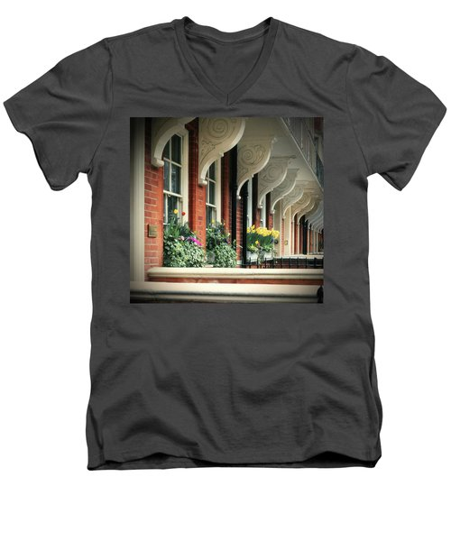 Townhouse Row - London Men's V-Neck T-Shirt