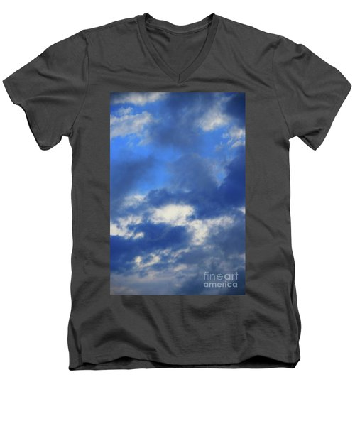 Men's V-Neck T-Shirt featuring the photograph Trade Winds by Jesse Ciazza