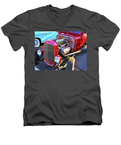 Traditional Hemi Men's V-Neck T-Shirt