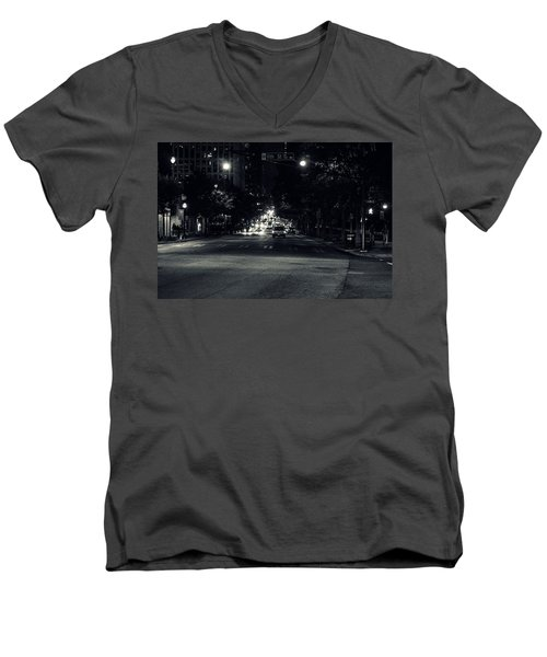 Traffic Men's V-Neck T-Shirt