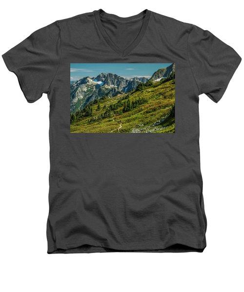 Trail Roaming Men's V-Neck T-Shirt