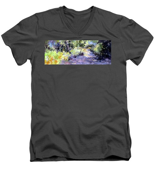 Trail Shadows Men's V-Neck T-Shirt
