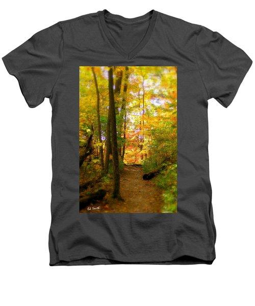 Trailhead Light Men's V-Neck T-Shirt
