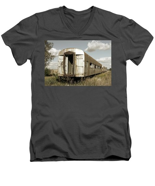 Train To Nowhere Men's V-Neck T-Shirt