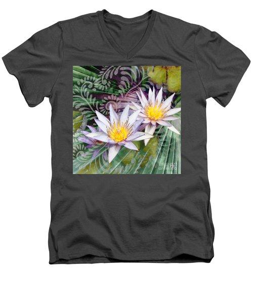 Tranquilessence Men's V-Neck T-Shirt