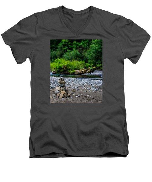 Tranquility Men's V-Neck T-Shirt