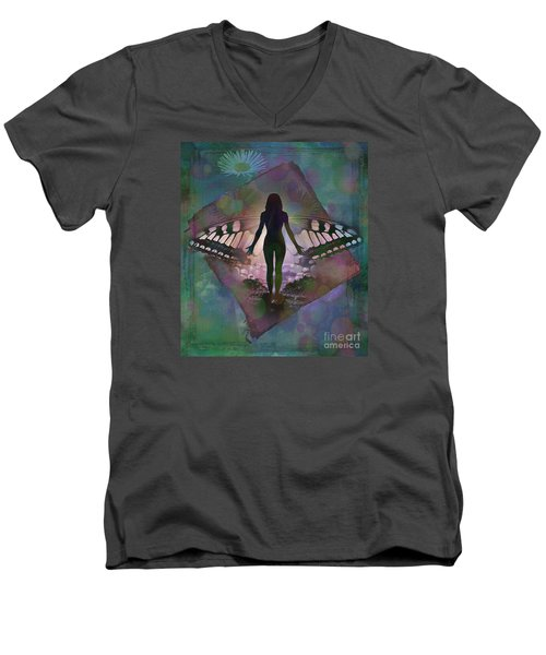 Transcend 2015 Men's V-Neck T-Shirt