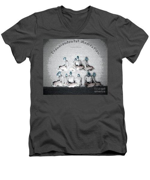 Transcendental Meditation Men's V-Neck T-Shirt