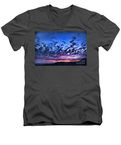 Transform My Life Men's V-Neck T-Shirt by Sharon Soberon