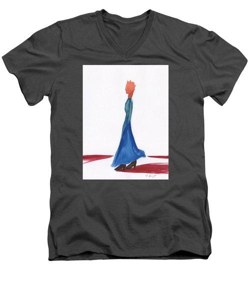 Transgender Men's V-Neck T-Shirt