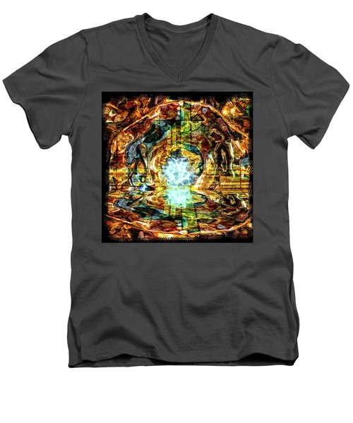Transmutation Men's V-Neck T-Shirt