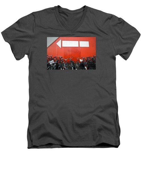 Transportation And Direction Men's V-Neck T-Shirt