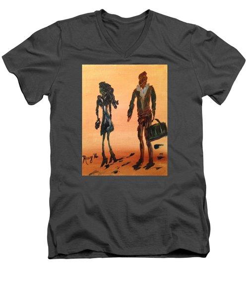 Travelers Men's V-Neck T-Shirt