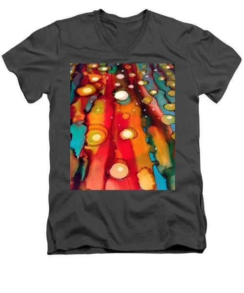 Traveling Men's V-Neck T-Shirt